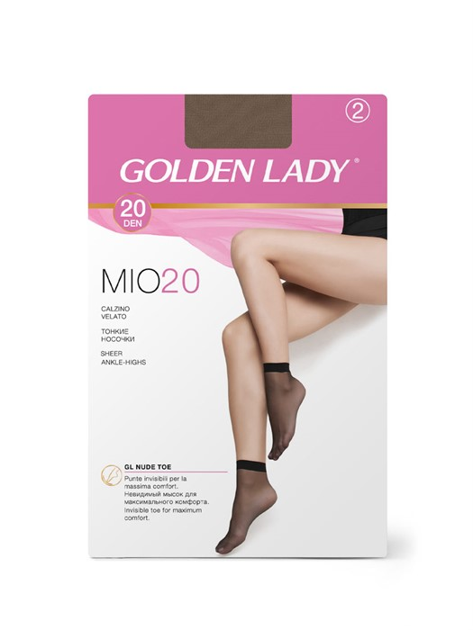 GOLDEN LADY Calzino MIO 20 Носки - 2 пары - фото 6243