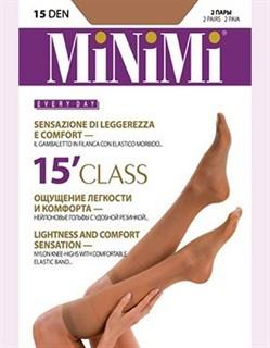 MINIMI gamb. CLASS 15 Гольфы - 2 пары