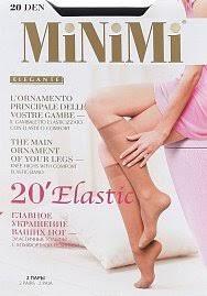 MINIMI gamb. ELASTIC 20 - 2 пары