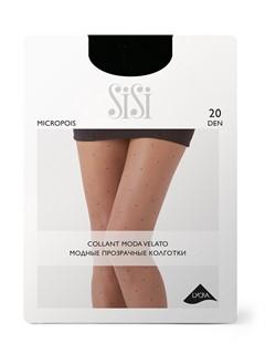 SISI MICROPOIS 20 колготки в горошек - фото 6994