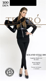 TEATRO Iceland Style leggings 300 - леггинсы с хлопком