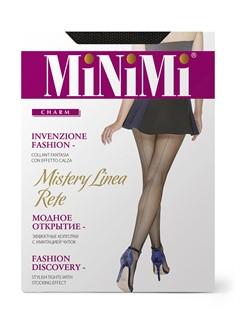 MINIMI Mistery Linea Rete - колготки в сетку со швом сзади - фото 8878