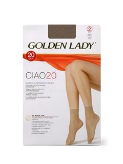 GOLDEN LADY Calzino CIAO 20 Носки - 2 пары